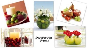 Decorar con Frutas