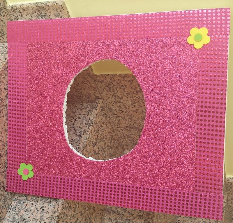 Hacer un marco para un photocall fuera los tacones - Como hacer un photocall ...