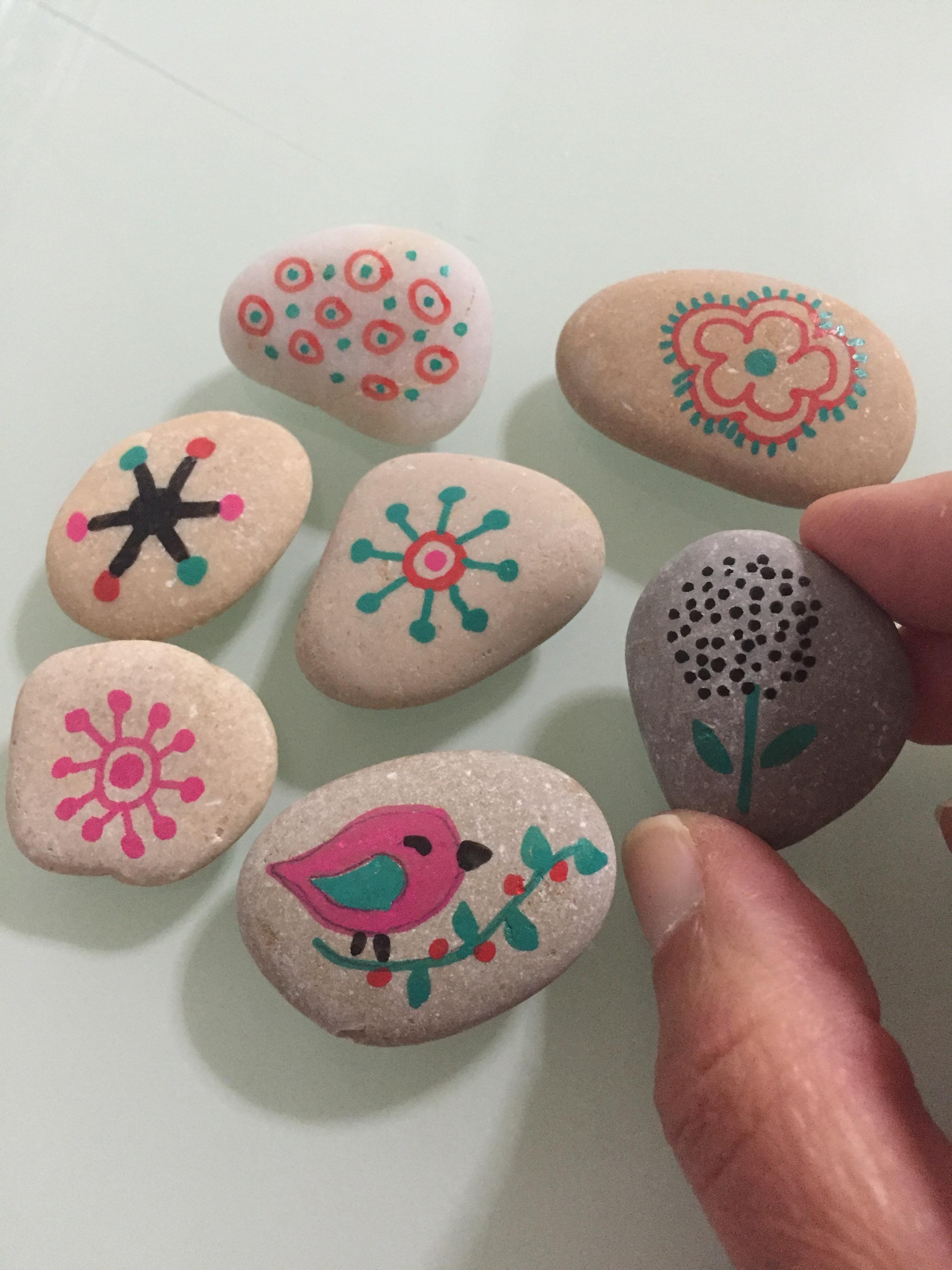 Decoracion de piedras decoracin con piedras de ro with for Piedras pequenas para decorar
